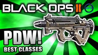 Black Ops 2: BEST CLASS SETUP - PDW (Rushing Class) - Call of Duty BO2 Gameplay