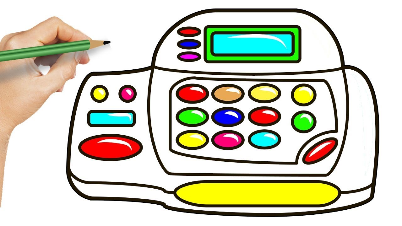 Cash Coloring Page - Ultra Coloring Pages | 720x1280
