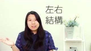 快速認讀中文字 - 基礎概念 - 第一堂