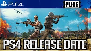 PUBG PS4: OFFICIAL RELEASE DATE, PRE ORDER BONUSES, CUSTOM MATCHES & MORE