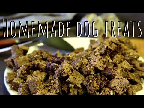 How To Make Homemade DOG TREATS | Recipe | CHICKEN LIVER With APPLES