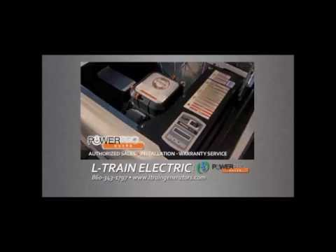 Generac Automatic Standby Generator Preventative Maintenance by L-Train Electric