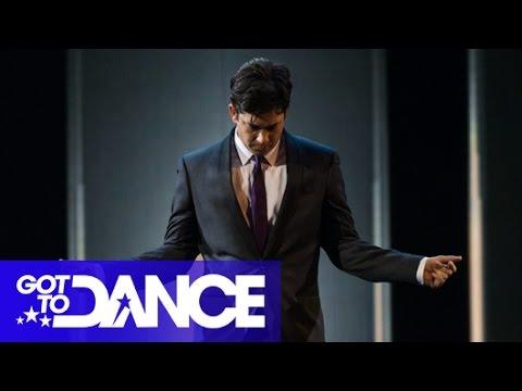 Adam Garcia's Tap case  Got To Dance 2014