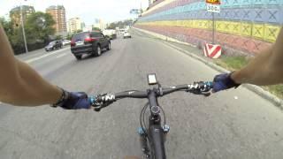 69 км/ч на велосипеде в городе