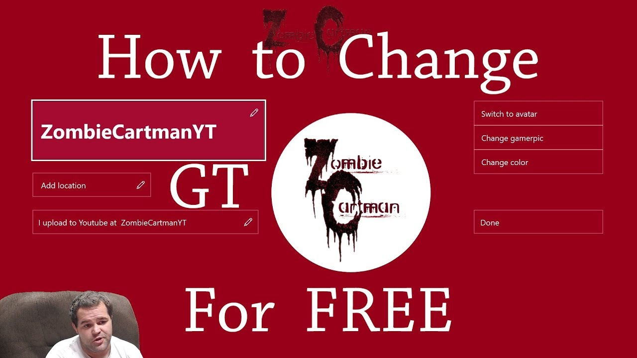 How to Change Your Xbox Gamertag for FREE Unlimited Times ...