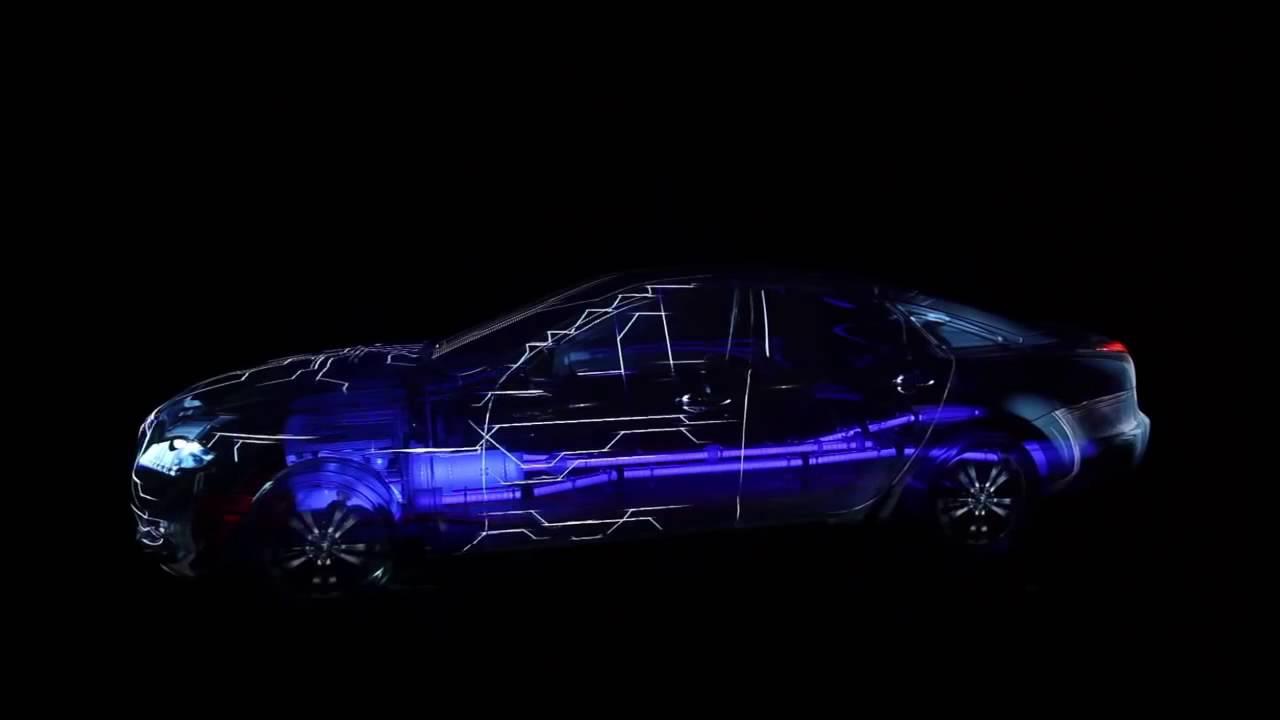 3D Mapping On A Transparent Jaguar Car Full HD