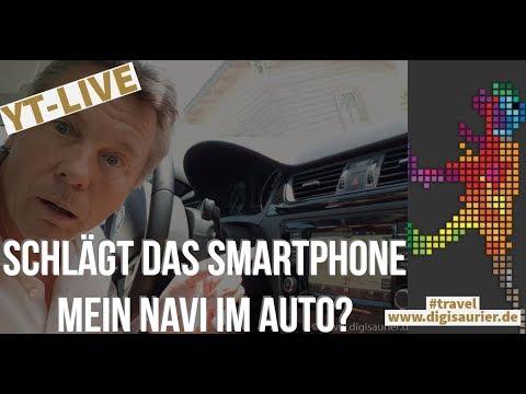 Ist das Smartphone besser als das Auto-Navi - und warum? * News von der Hannover Messe