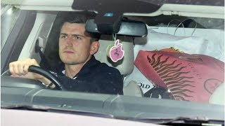 Harry Maguire leaves Carrington with big clue Man Utd transfer is done on the back seat- transfer...