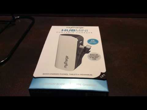 Review on the My Charge Hub Mini Portable Charger