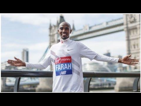 Sir Mo Farah targets London Marathon podium place