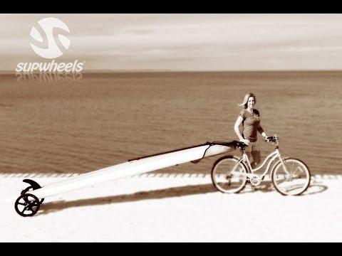 SUP Wheels® Evolution Bike Standup Paddle Board - Bike SUP Carrier