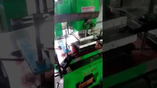 Decoiler with pneumatic strip feeder for power press. | Amit- Samay-Asia