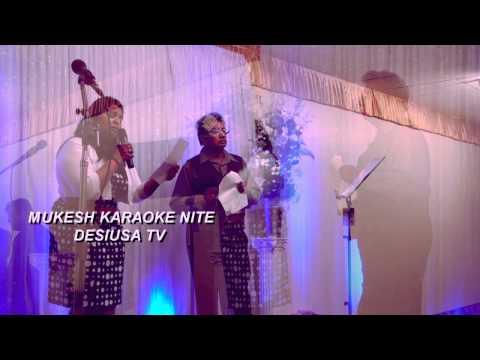 MUKESH KARAOKE NITE BY SF BAY AREA SINGERS