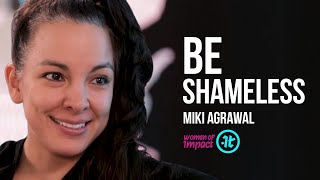 Why You Need to Overcome Society's Taboos  | Miki Agrawal on Women of Impact