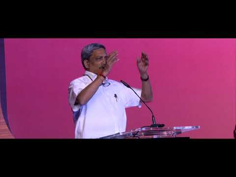 Manohar Parrikar at India Ideas Conclave 2017
