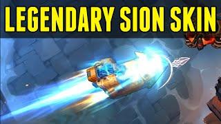 LoL Mecha Zero Sion LEGENDARY skin! - League of Legends