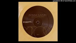 Donna Summer - Love To Love You Baby (Giorgio Moroder feat Chris Cox Remix)