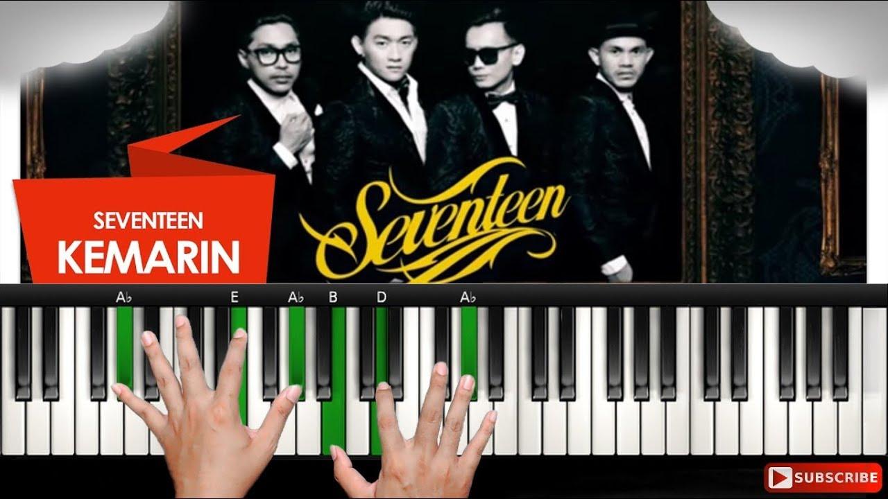 Kunci piano lagu kemarin seventeen