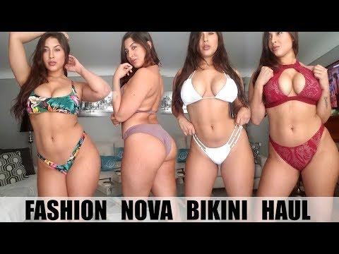 HUGE BIKINI TRY ON HAUL! Ft. FASHION NOVA
