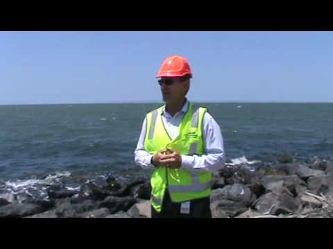 Brad Kichen, Manager of Environment for the Port of Brisbane Corporation