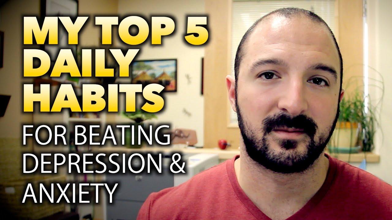 how to break anxiety habits