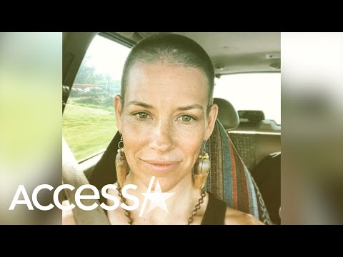 Evangeline Lilly Looks Unrecognizable After Shaving Off All Her Hair