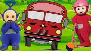 Wheels on the bus | Teletubbies |  Nursery Rhymes with Teletubbies | Cartoons for Kids