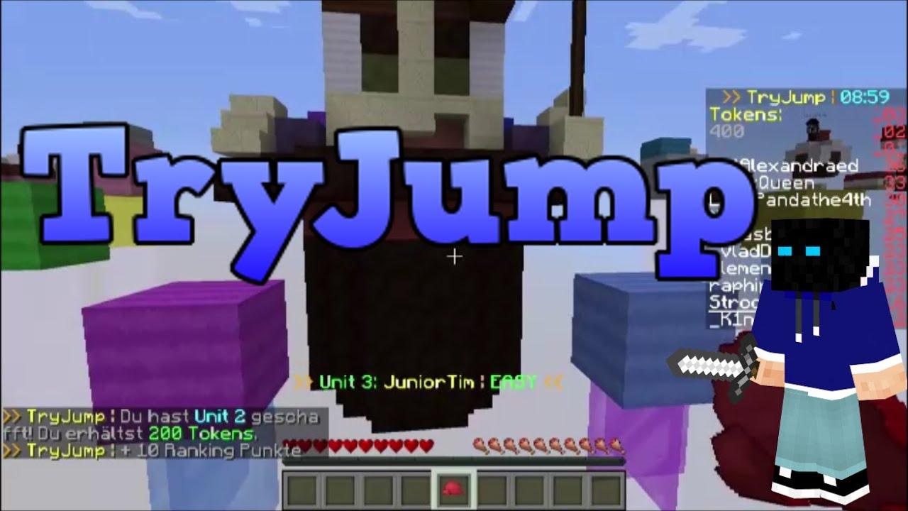 Andere Spiele Und Tokens Minecraft TryJump YouTube - Minecraft tryjump spielen