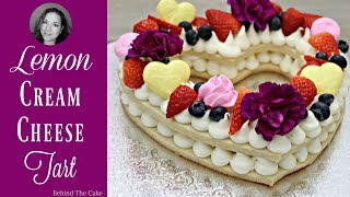 Cream Tart / Cake trend 2018 / This recipe will blow your mind