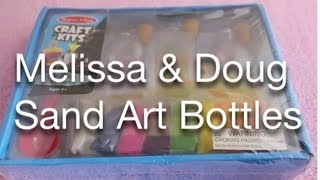 Melissa and Doug Sand Art Bottles