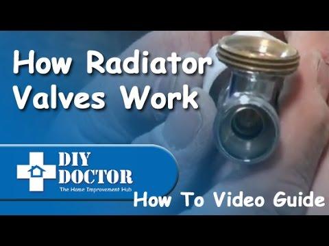 How radiator valves work - YouTube