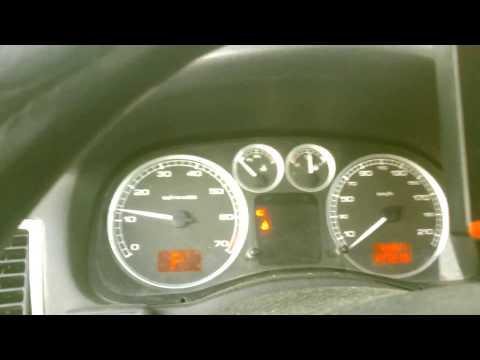 Заводим пежо 307 в 30 градусов We get the Peugeot 307 in 30 degrees
