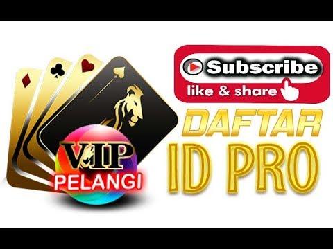 Cara Membuat ID PRO Poker Online, BandarQ, AduQ Online di Situs VIPPelangi