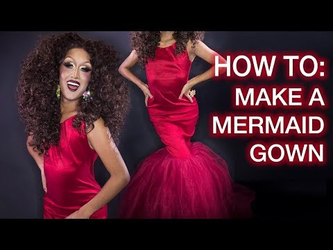 how-to-sew-a-big-mermaid-gown!