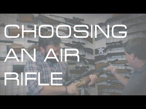 How to choose an air rifle