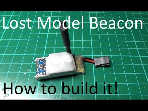 DIY Lost Model Beacon. How To Build One.....