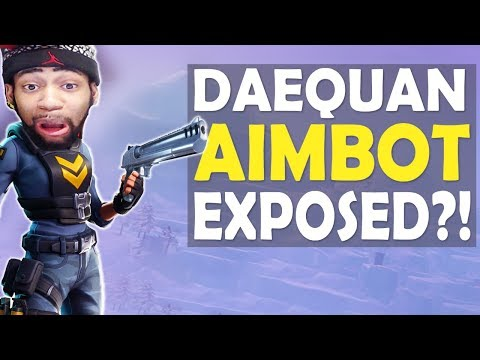 DAEQUAN AIMBOT EXPOSED?! | CRAZY AIM | HIGH KILL FUNNY GAME