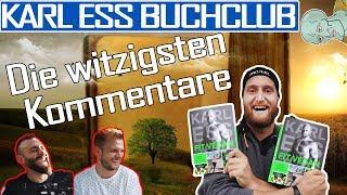 Karl Ess Buchclub - Die witzigsten Kommentare:  Ein (spannender?) Kurzfilm über den Buchclub