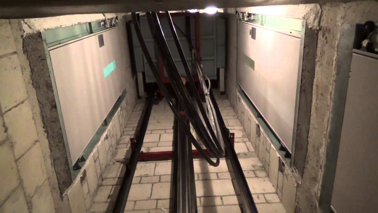 1982 Hydraulic Elevator Engine And Shaft View Youtube