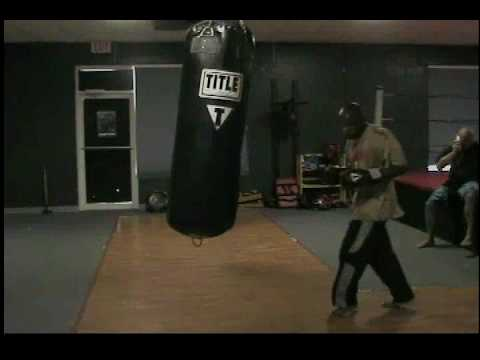 Antonio Grant Training 200 Lb Heavy Bag