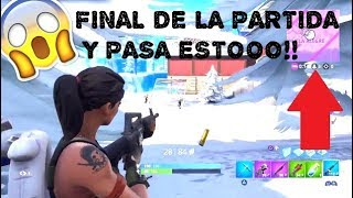 HOW TO ALWAYS get to the END OF THE PARTY IN FORTNITE!! 100% REAL! I get to the FINAL and pass THIS!!