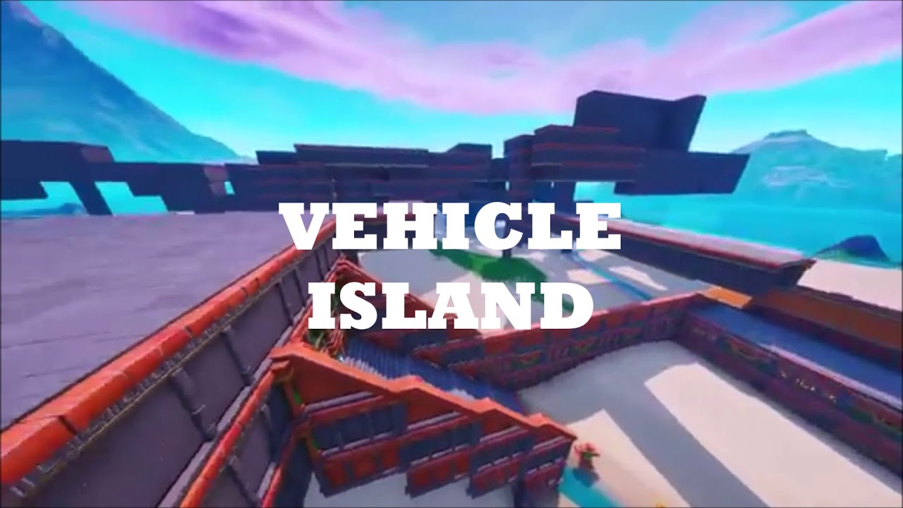 Vehicle Island Laarsjee Fortnite Creative Map Code