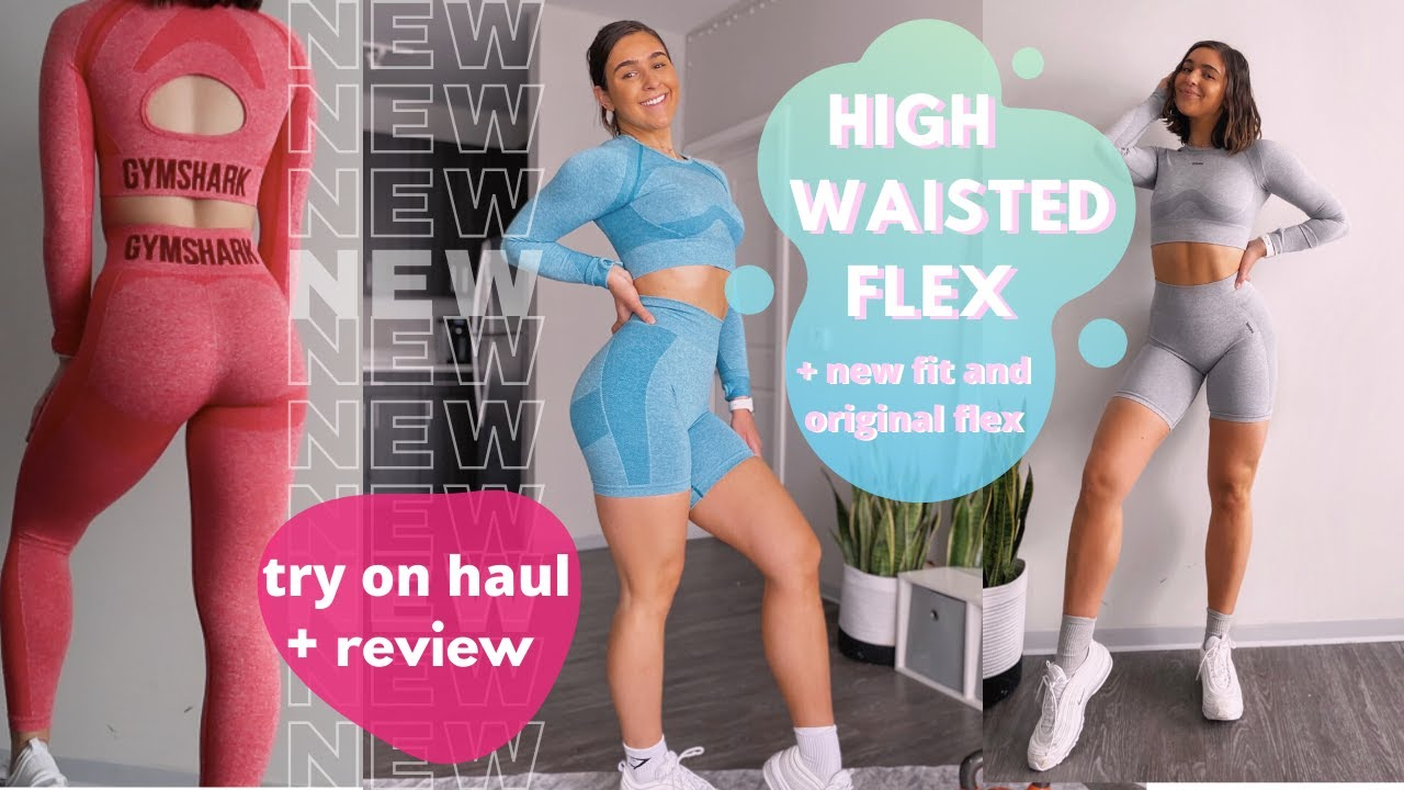NEW GYMSHARK RELEASES | Try on Haul | High Waisted Flex and more!
