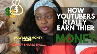Behind The Scenes of Youtube. How I Earn My Money