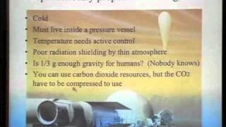 (1 of 2) Terraforming Venus, Landis, Mars Society Conference 2010