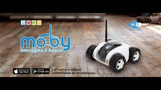 MOBY l'IP camera mobile by MODE