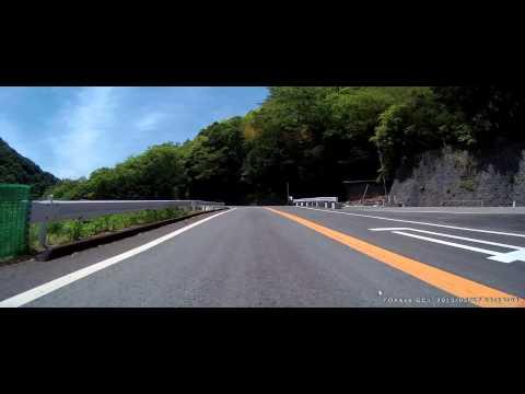 本栖みち 走ってみた / 登り (国道300号) VFR800X MUGEN
