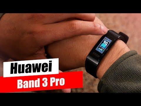 Huawei Band 3 Pro - Мощный ответ Mi Band и FitBit
