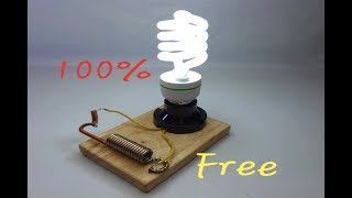 Electricity Electric Magnetic Generator Free Energy Generator New idea