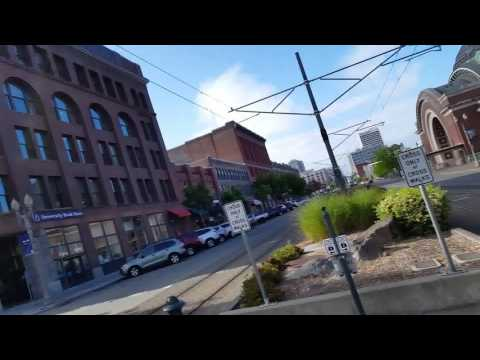It's Mothers Day, Tour of Tacoma, Freighthouse Square, Tacoma Link, and Museum of Glass
